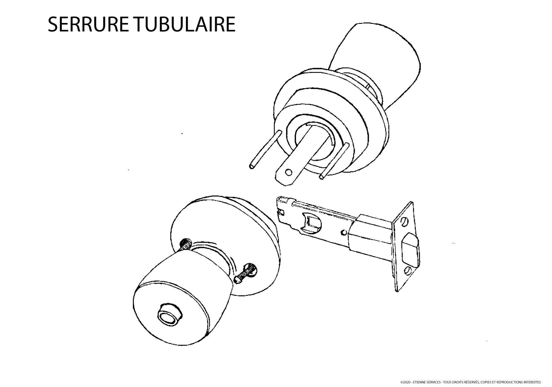Serrure Tubulaire: Qu'est-ce que c'est ? Comment ça fonctionne ?